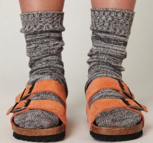 Suede-birkenstocks