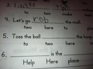 Is it wrong to profile a 1st grader?